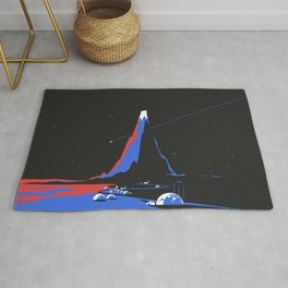 Asteroid Fly By Rug