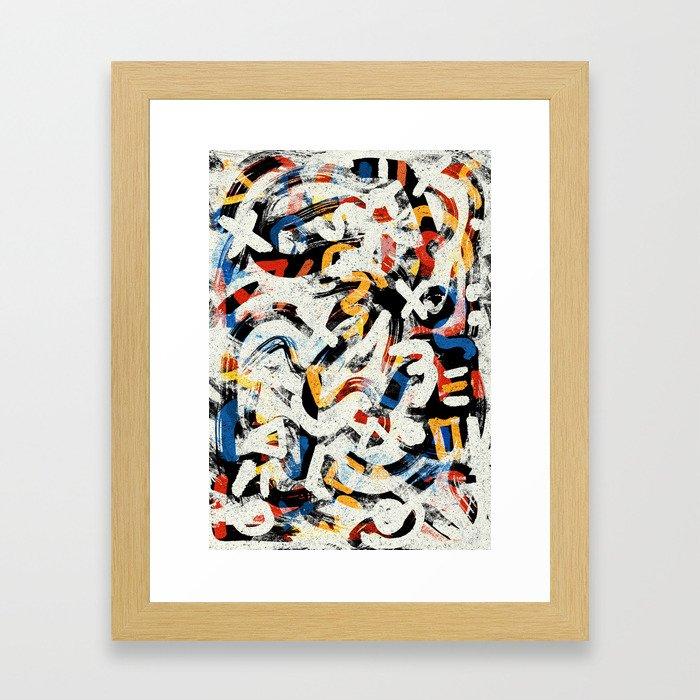 Pattern № 63 Framed Art Print