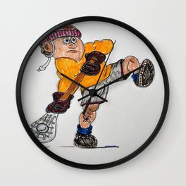 Lax player Wall Clock