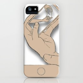 iFail Gold (Picture This!) iPhone Case