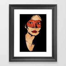 Mother Hazard Framed Art Print