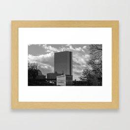 John Hancock Building - Boston Framed Art Print