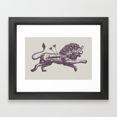 Be Not Afraid Framed Art Print