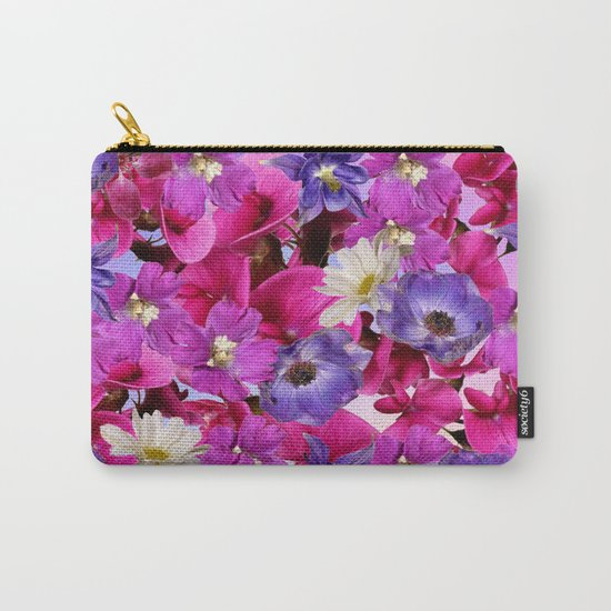 The Joy Of Spring Flowers Carry-All Pouch