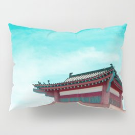 Travel photography Chinatown Los Angeles IV Temple Pillow Sham