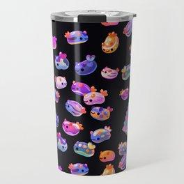 Jelly bean sea slug - dark Travel Mug