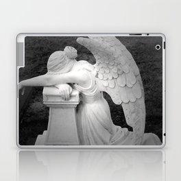 crying angel Laptop & iPad Skin