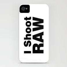 Photography - I Shoot RAW (white) iPhone (4, 4s) Slim Case