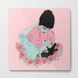 Girl Love Metal Print