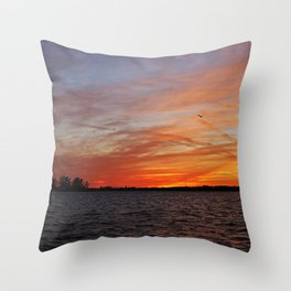 Keeping Faith Throw Pillow