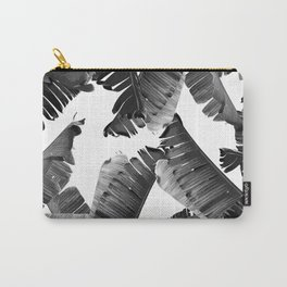 Banana Black & White Carry-All Pouch