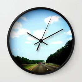 Country Texas Wall Clock
