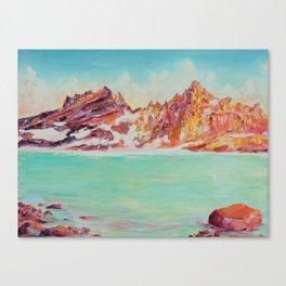 Broken Top Lake Canvas Print