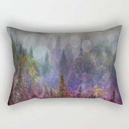 Four Seasons Forest Rectangular Pillow