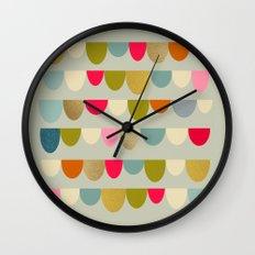 Delightful Rue Wall Clock