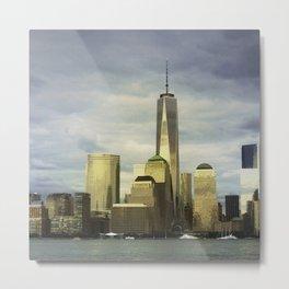 NYC Skyline 2014 - #1 Metal Print