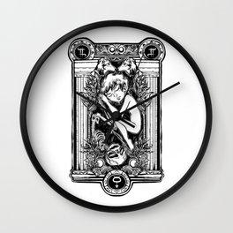 EROS & THANATHOS Wall Clock