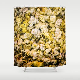 Popcorn Shower Curtain