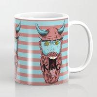 viking Mugs featuring Viking by Thekrls