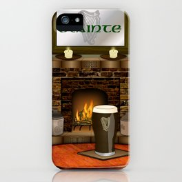 Irish Pub iPhone Case