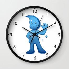 Water boy Cartoon Wall Clock