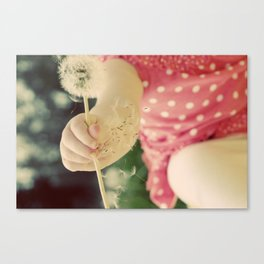 Hold on. Canvas Print