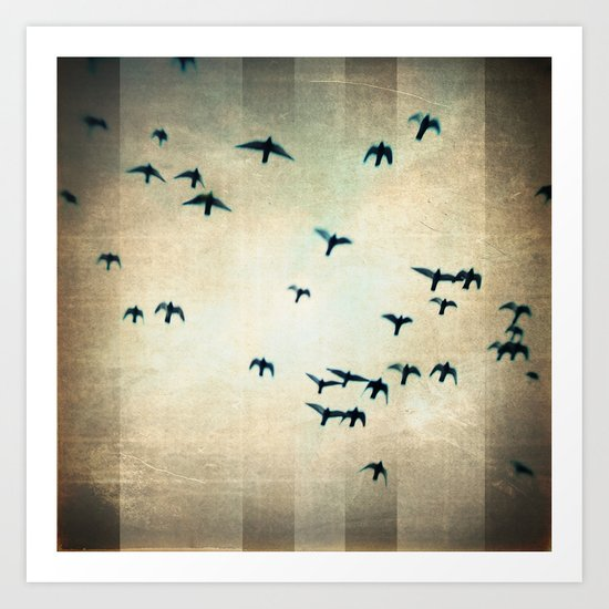 one for the birds Art Print