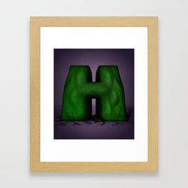 Superbet 'H' Framed Art Print