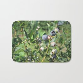Blueberry Plant Bath Mat