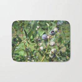 Blueberry Plant Bath Mat