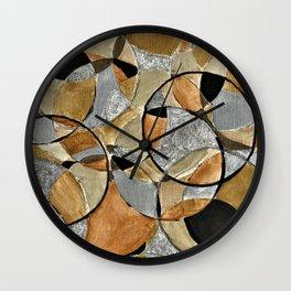 Precious Metal Wall Clock