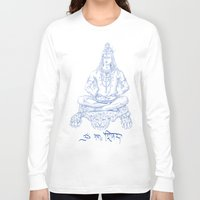 shiva Long Sleeve T-shirts featuring SHIVA by Psychedelic Bugs - Besouro Independente