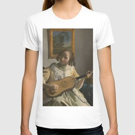 "Johannes Vermeer ""The Guitar Player"" T-shirt"