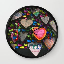 Lockets Wall Clock