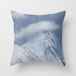 Job's Peak Throw Pillow