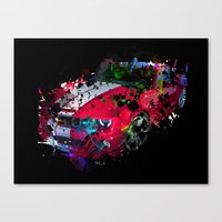 cars Canvas Prints featuring cars  by mark ashkenazi