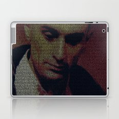 Travis. Taxi Driver Screenplay Print Laptop & iPad Skin