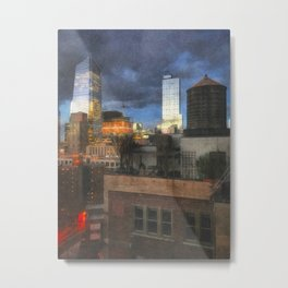 Hudson Yards Metal Print