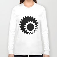 gears of war Long Sleeve T-shirts featuring Gears Again by Hatton Custom Design