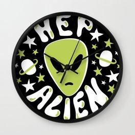 Hep Alien Wall Clock