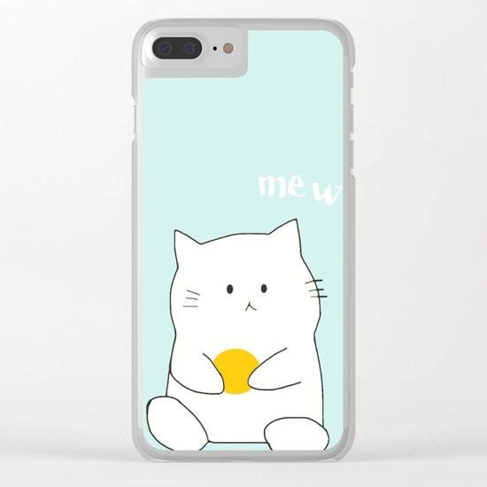 cat-359 Clear iPhone Case