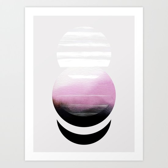 Self-contained Art Print
