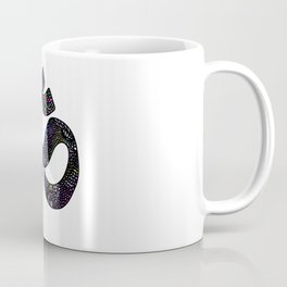 """Print Sign Om """"Listen to your breathing"""" Coffee Mug"""