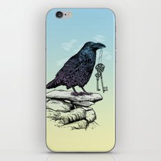 Raven's Keys iPhone & iPod Skin