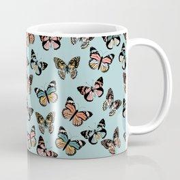 You Give Me Butterflies.. - Light Blue Coffee Mug