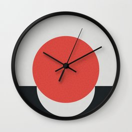 No Way Back / Red & Black Wall Clock