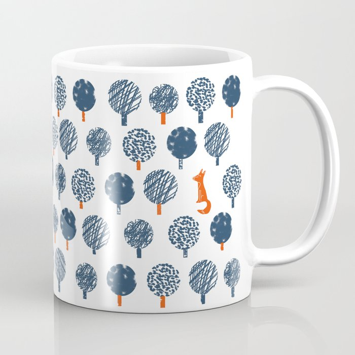 Lost in the Woods ( a Fox adventure) Coffee Mug
