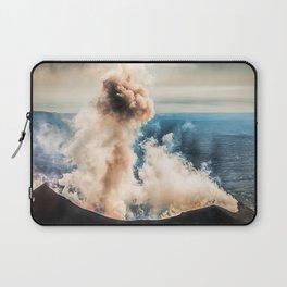 The summit of Karymsky Volcano Laptop Sleeve