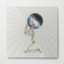 ex astris scientia Metal Print