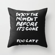 IT'S GONE Throw Pillow